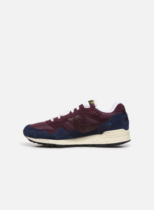 Sneakers Saucony Shadow 5000 Bordò immagine frontale
