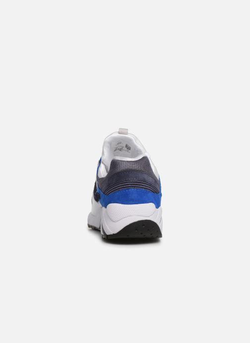 Sneaker Saucony Grid 9000 weiß ansicht von rechts
