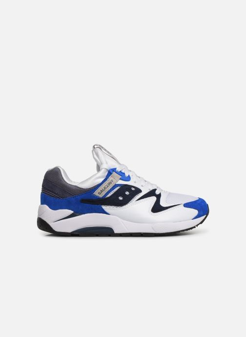 Sneakers Saucony Grid 9000 Wit achterkant