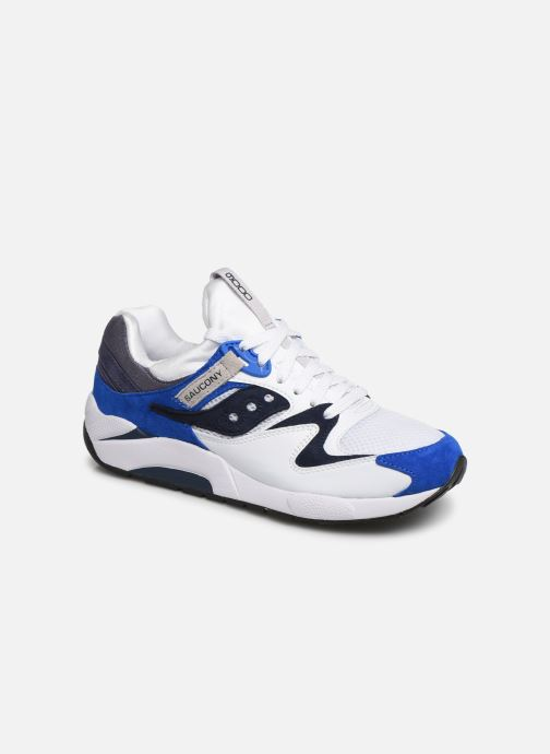 Sneakers Saucony Grid 9000 Wit detail