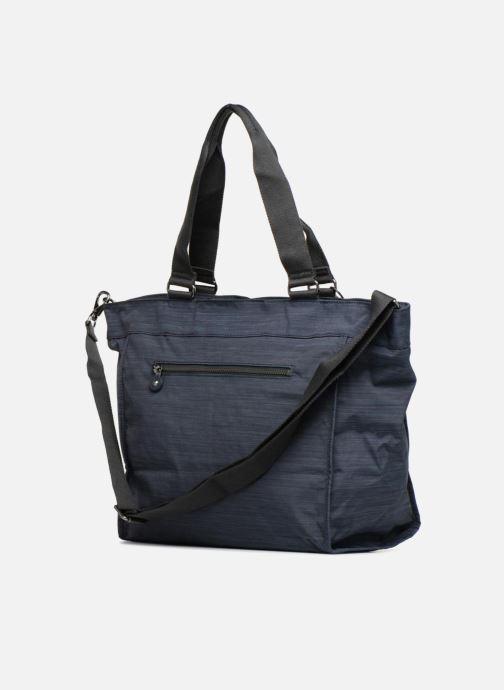 Handtassen kipling New Shopper L Blauw rechts