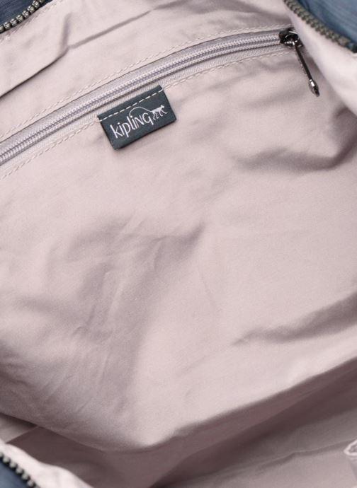 Handtassen kipling New Shopper L Blauw achterkant