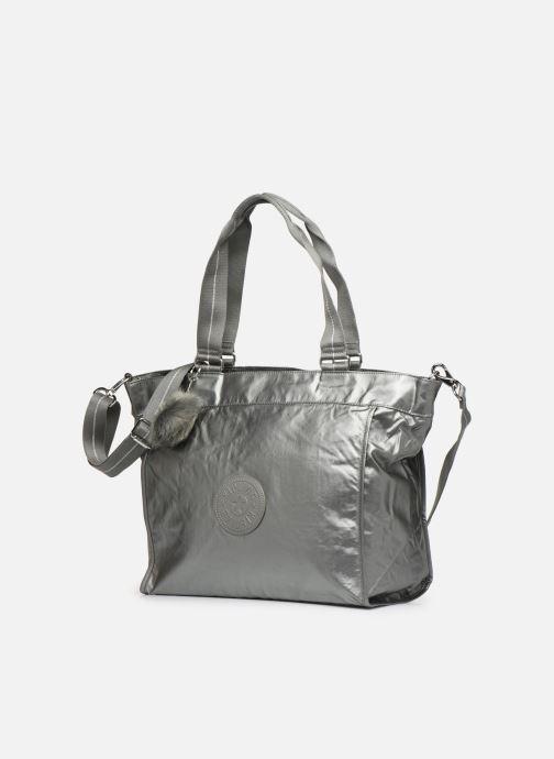 Handtassen kipling New Shopper L Zilver model