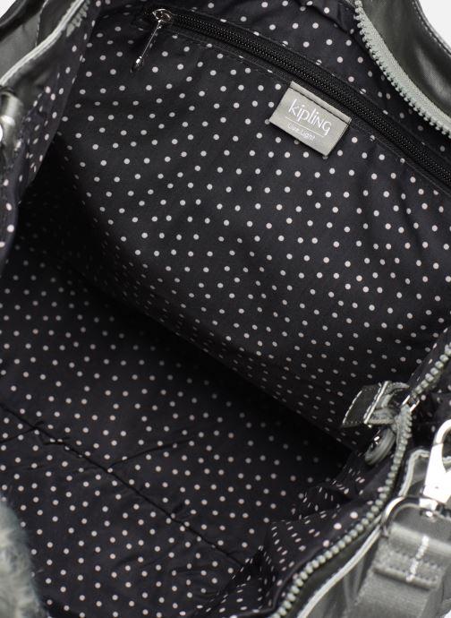 Handtassen kipling New Shopper L Zilver achterkant