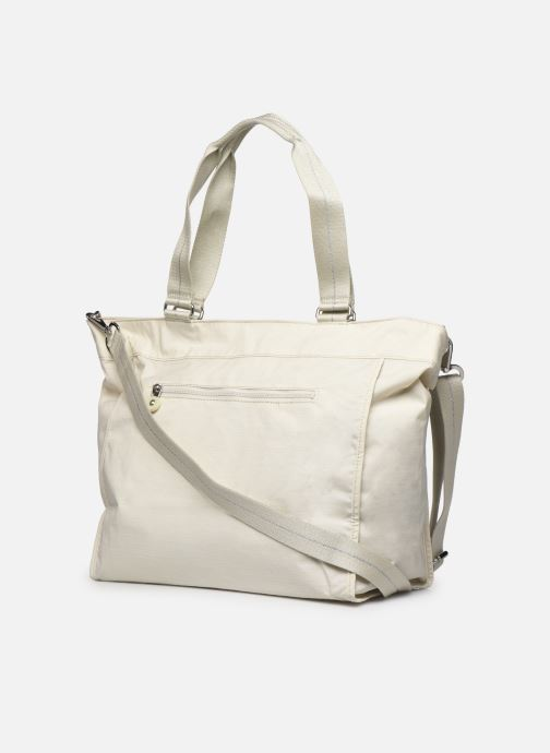 Sacs à main kipling New Shopper L Blanc vue droite