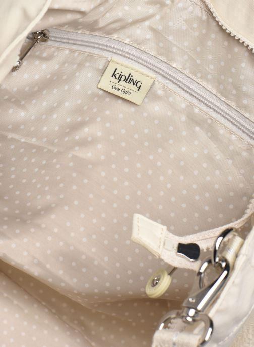 Sacs à main kipling New Shopper L Blanc vue derrière