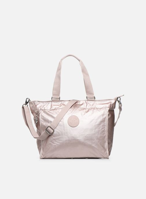 Handtassen kipling New Shopper L Zilver detail