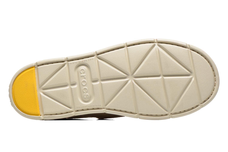 Espadrilles Crocs CrocsCaboLoaferM Beige vue haut