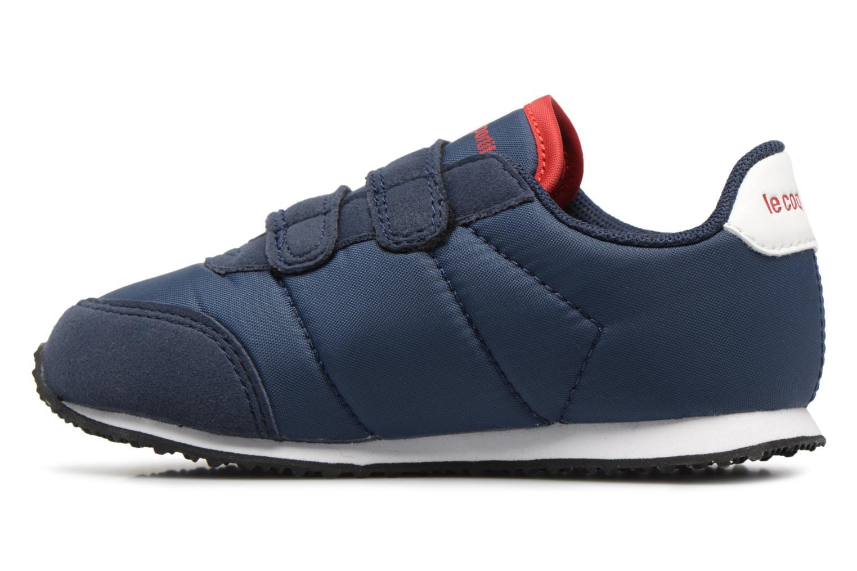 Sneakers Le Coq Sportif Racerone INF Azzurro immagine frontale