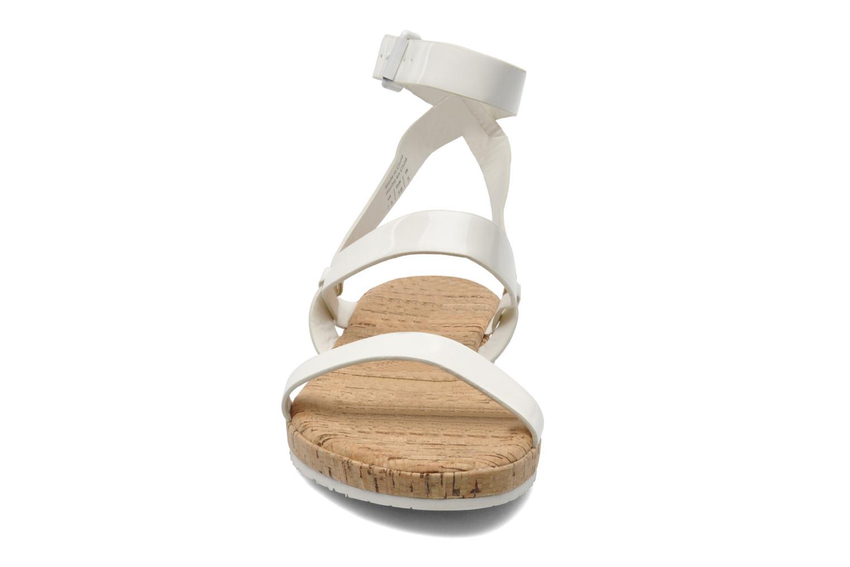 Sandales et nu-pieds Aldo Biravia Blanc vue portées chaussures