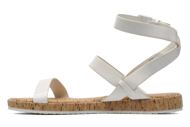 Sandales et nu-pieds Aldo Biravia Blanc vue face