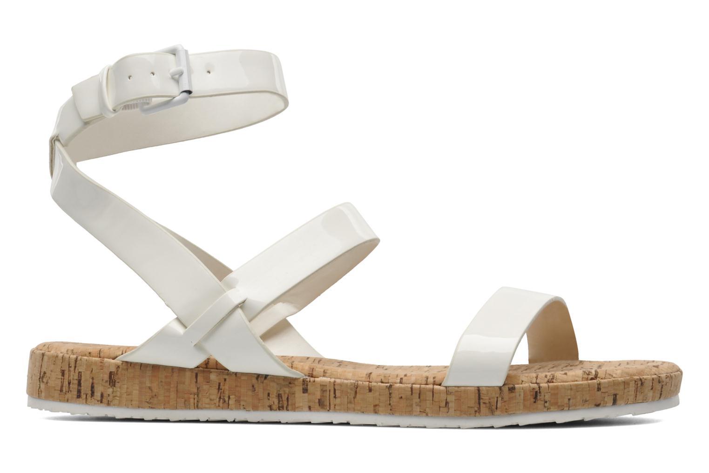 Sandales et nu-pieds Aldo Biravia Blanc vue derrière