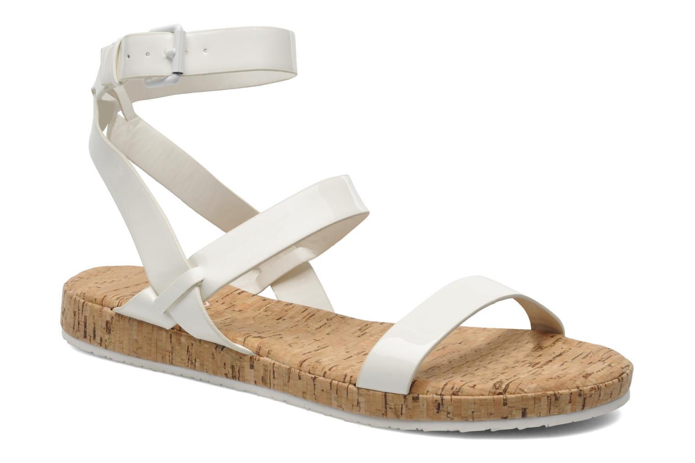 Sandales et nu-pieds Aldo Biravia Blanc vue détail/paire