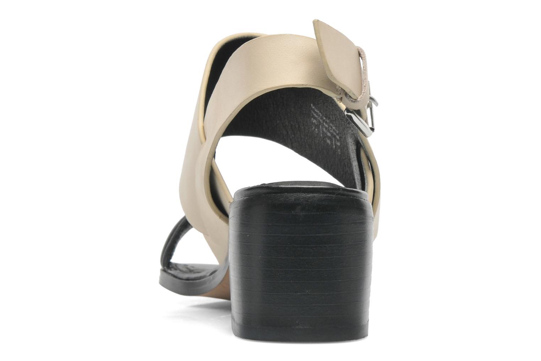Sandales et nu-pieds Aldo Jerosen Beige vue droite
