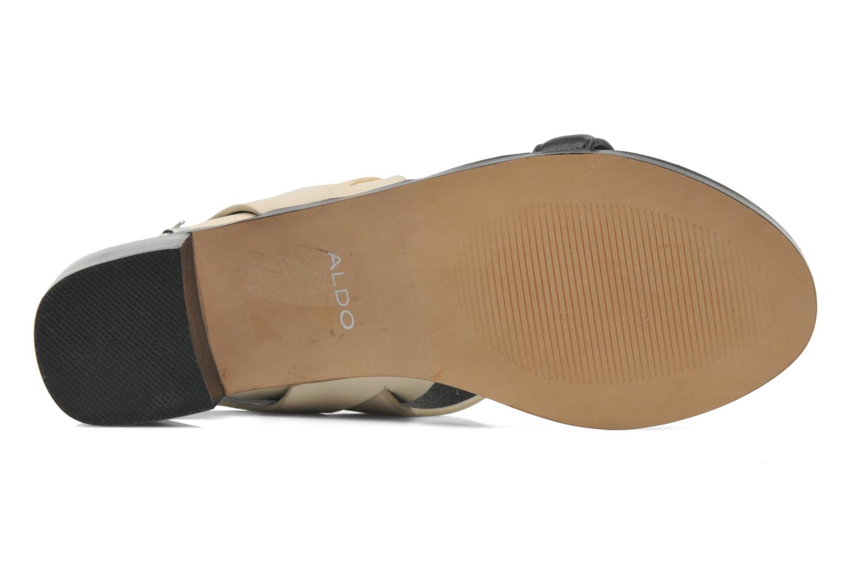 Sandales et nu-pieds Aldo Jerosen Beige vue haut