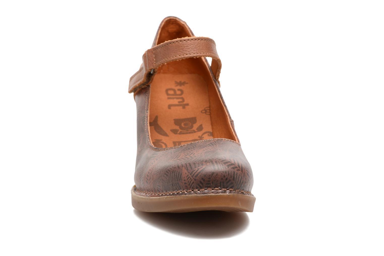 Escarpins Art Harlem 933F Marron vue portées chaussures