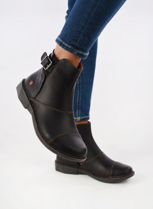 Bottines et boots Art Bergen 917 Noir vue bas / vue portée sac