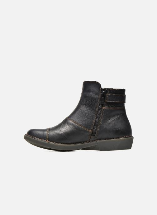 Bottines et boots Art Bergen 917 Noir vue face