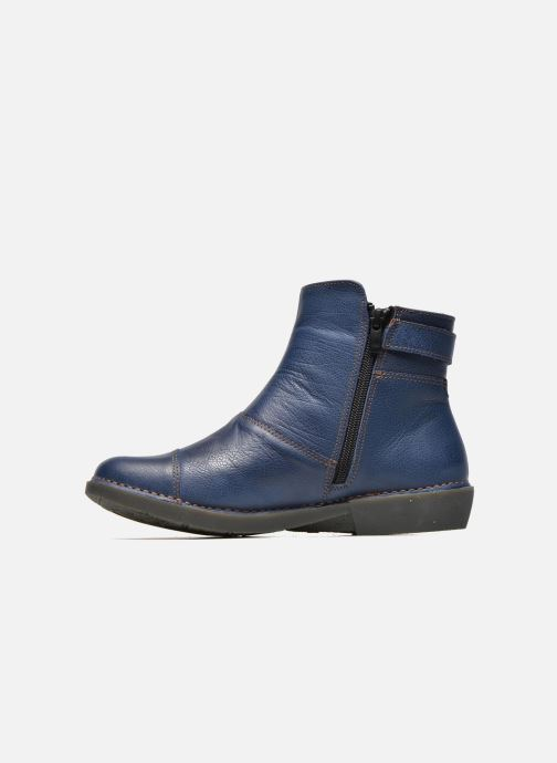 Bottines et boots Art Bergen 917 Bleu vue face