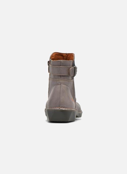 Boots en enkellaarsjes Art Bergen 917 Grijs rechts