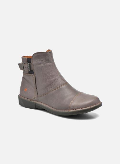 Ankelstøvler Art Bergen 917 Grå detaljeret billede af skoene