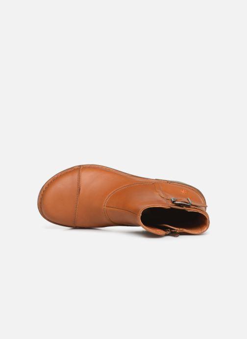 Boots en enkellaarsjes Art Bergen 917 Bruin links