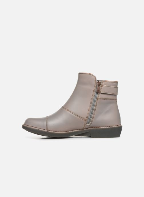Ankle boots Art Bergen 917 Grey front view
