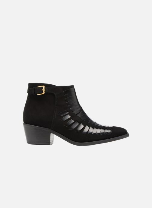 Bottines et boots MySuelly Robert Python Noir vue derrière