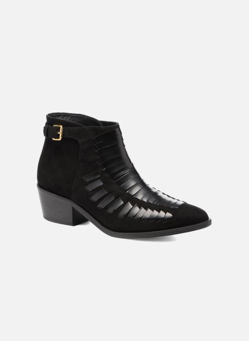 Bottines et boots MySuelly Robert Python Noir vue détail/paire