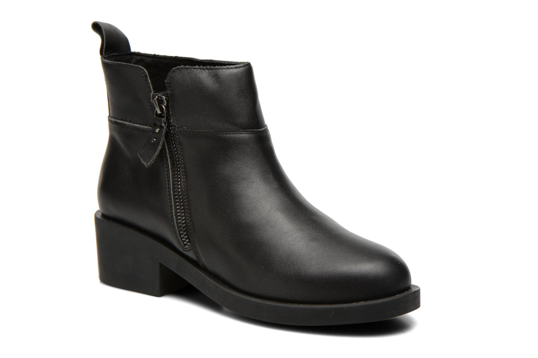Bottines et boots Schmoove Woman Initial Zip Boots Noir vue détail/paire
