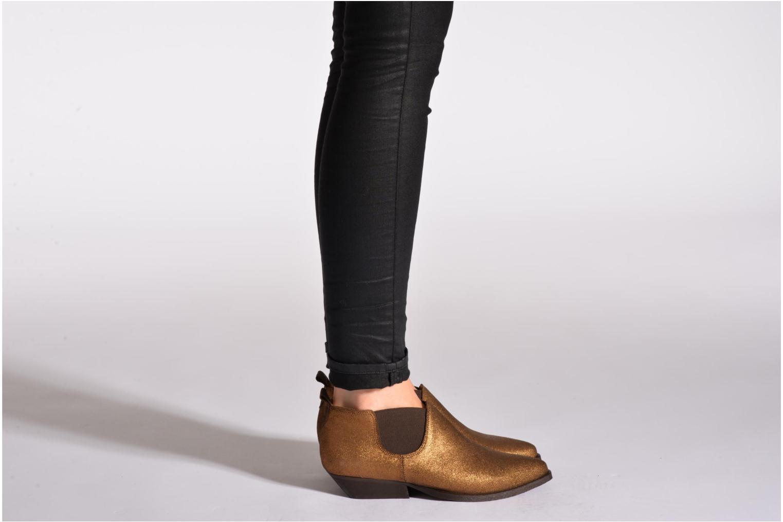 Bottines et boots Schmoove Woman Impala Low Boots Noir vue bas / vue portée sac