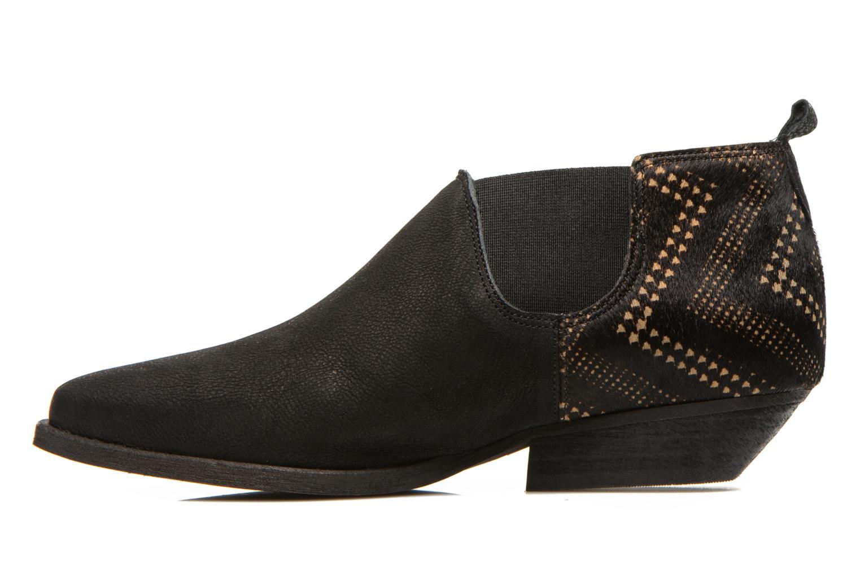 Bottines et boots Schmoove Woman Impala Low Boots Noir vue face