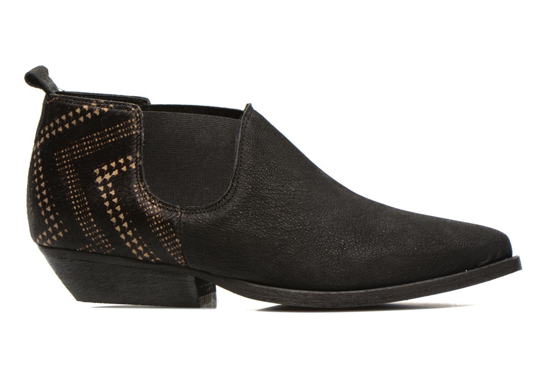 Bottines et boots Schmoove Woman Impala Low Boots Noir vue derrière