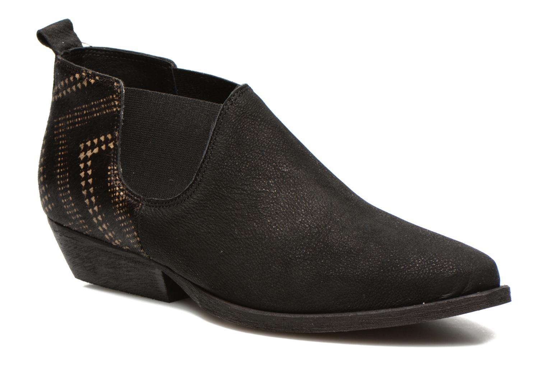 Bottines et boots Schmoove Woman Impala Low Boots Noir vue détail/paire