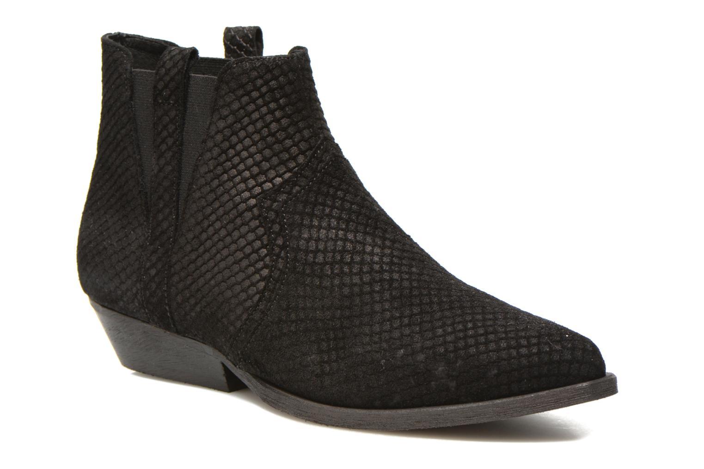 Bottines et boots Schmoove Woman Impala Boots Noir vue détail/paire