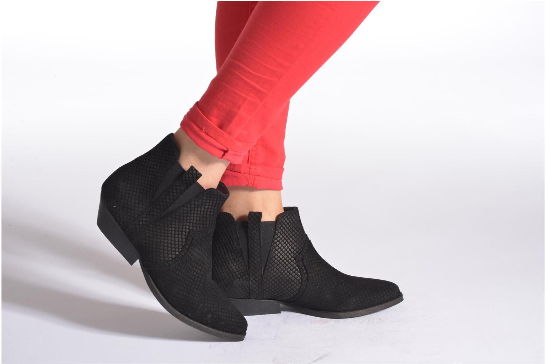 Bottines et boots Schmoove Woman Impala Boots Noir vue bas / vue portée sac