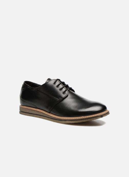 Lace-up shoes Schmoove Shyboy Polido Black detailed view/ Pair view