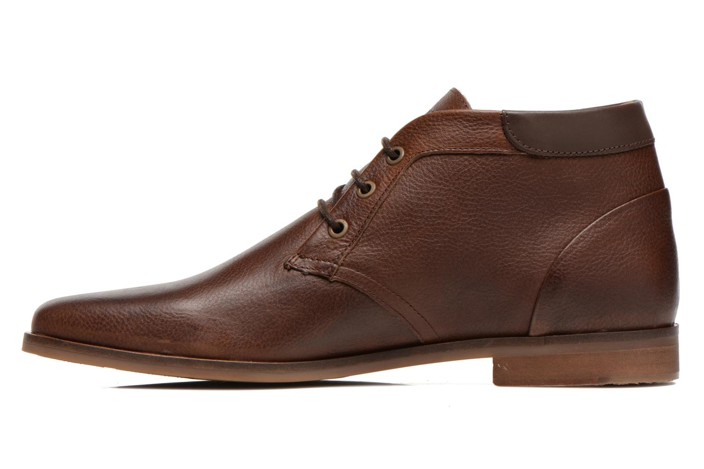 Chaussures à lacets Schmoove Dirtydandy Desert Marron vue face