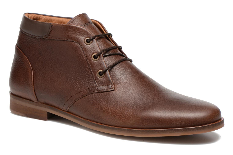 Chaussures à lacets Schmoove Dirtydandy Desert Marron vue détail/paire