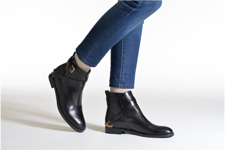 Bottines et boots Fratelli Rossetti Magenta Beattles Noir vue bas / vue portée sac
