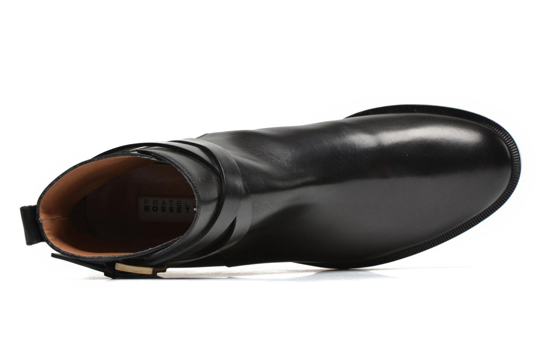Bottines et boots Fratelli Rossetti Magenta Beattles Noir vue gauche