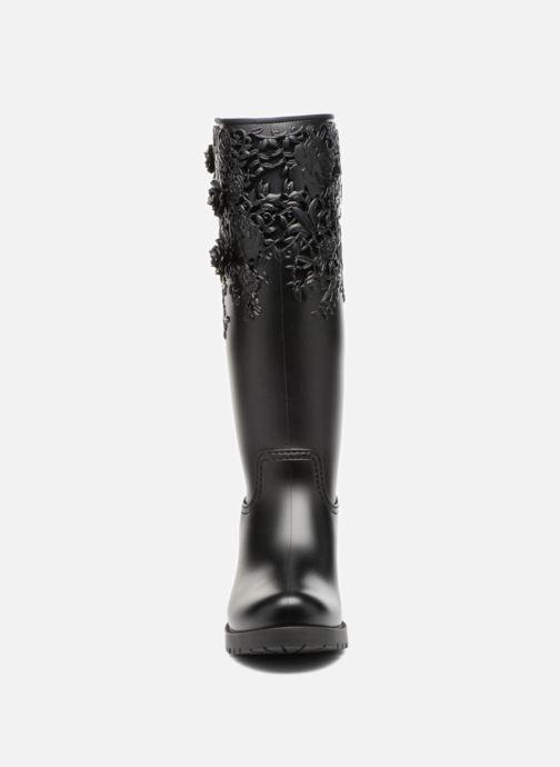 Botas Melissa Melissa Flower Boot Negro vista del modelo