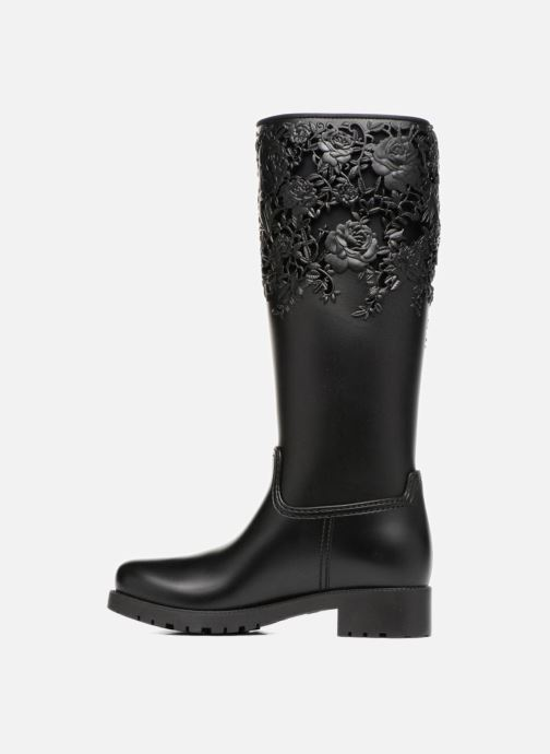 Bottes Melissa Melissa Flower Boot Noir vue face