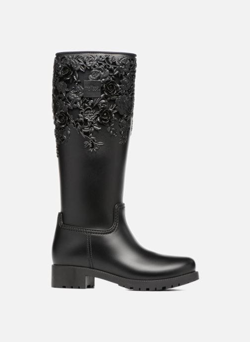 Bottes Melissa Melissa Flower Boot Noir vue derrière