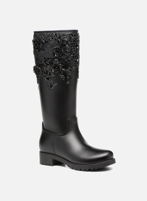 Boots & wellies Melissa Melissa Flower Boot Black detailed view/ Pair view