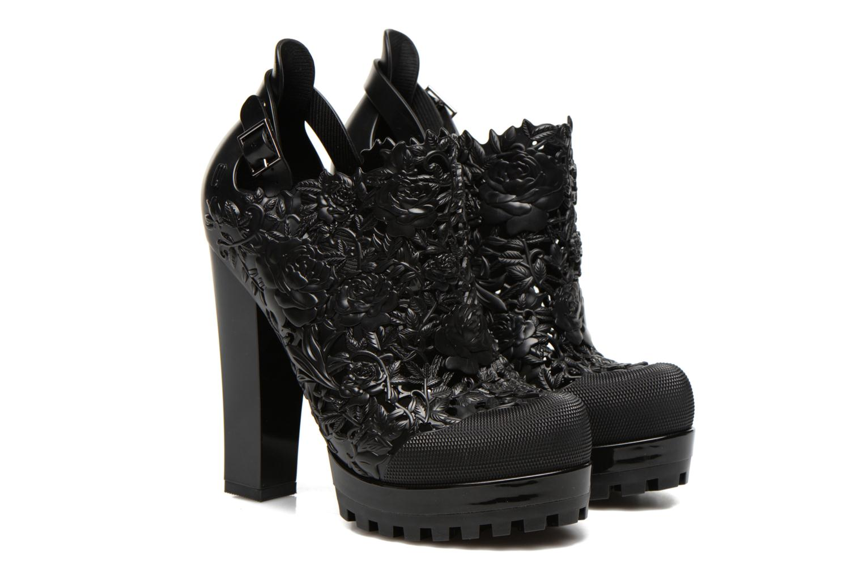 Bottines et boots Melissa Melissa Flower Boot Noir vue 3/4