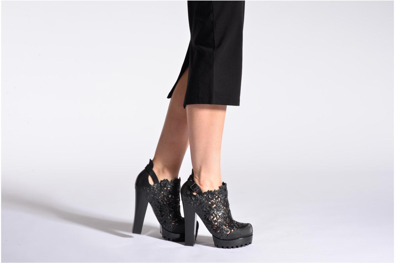 Bottines et boots Melissa Melissa Flower Boot Noir vue bas / vue portée sac