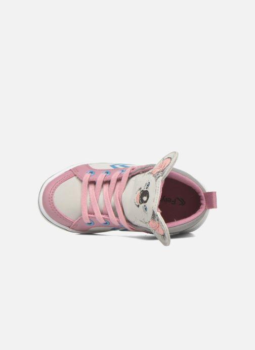 Sneakers Feiyue Delta Mid Animal 2 Grijs links