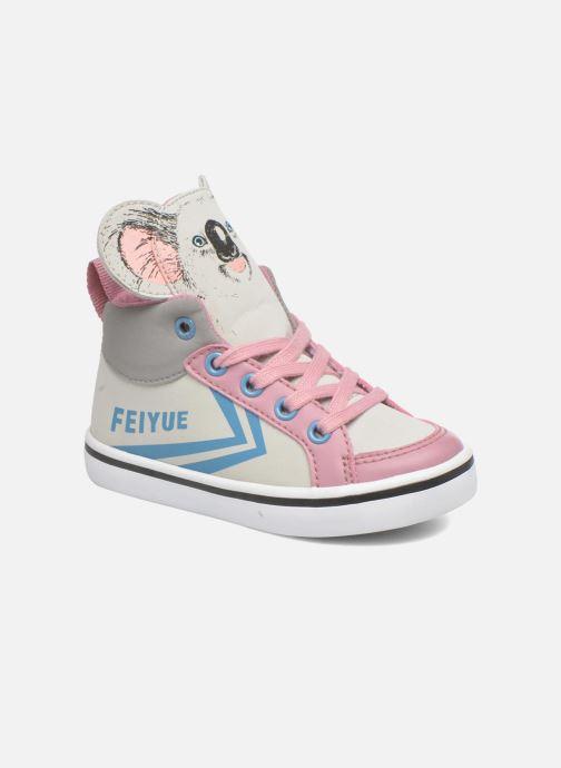 Sneakers Feiyue Delta Mid Animal 2 Grigio vedi dettaglio/paio