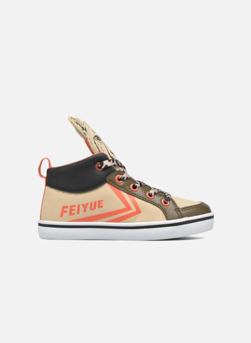 Sneakers Feiyue Delta Mid Animal 2 Beige se bagfra